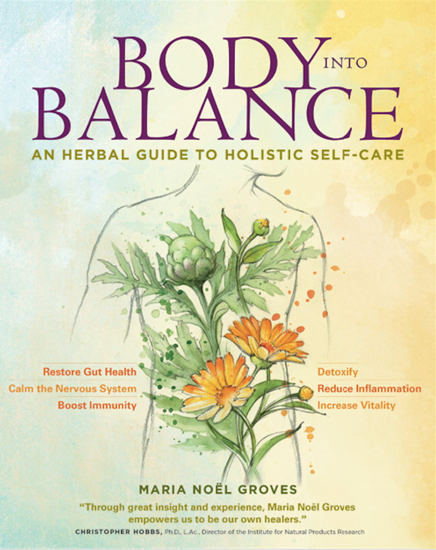 Center for holistic herbal therapy - Amber Meyers We Love Herbal Academy Educator Maria No L Groves S New Book Body Into Balance